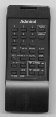ADMIRAL 64532340 Genuine  OEM original Remote