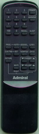 ADMIRAL 64565222 Genuine  OEM original Remote