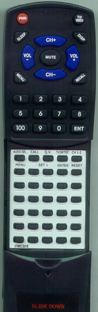ADMIRAL 62560363 Custom Built Redi Remote