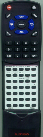 ADMIRAL 64668412 Custom Built Redi Remote