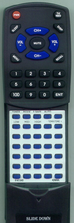 ADMIRAL 814012400 Custom Built Redi Remote