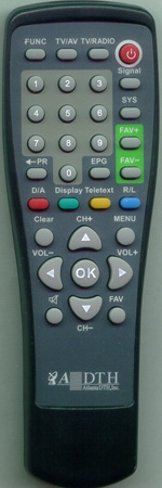 ADTH 8600IR Genuine OEM original Remote