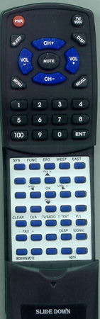 ADTH 8009IRREMOTE Custom Built Redi Remote
