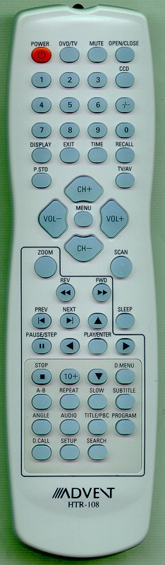 ADVENT 301-00908059-80 HTR108 Refurbished Genuine OEM Remote
