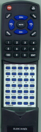 ADVENT 301-00908059-80 HTR108 Custom Built Redi Remote