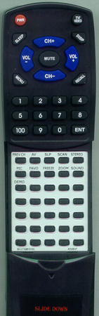 ADVENT 301-CT3251-010C RCC010C Custom Built Redi Remote