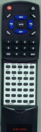 ADVENT 301-SQ2716-100A RCS100A Custom Built Redi Remote