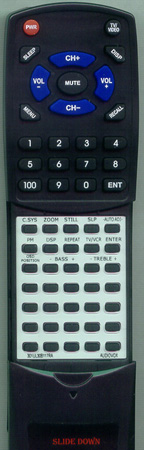 ADVENT 301-UL30B1-17RA RCU17RA Custom Built Redi Remote