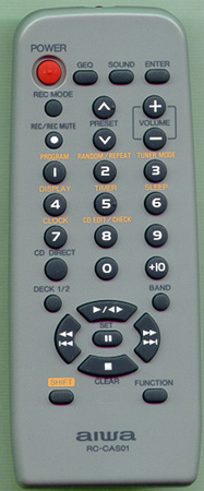 AIWA 1-477-444-12 RCCAS01 Genuine OEM original Remote