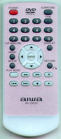 AIWA 1-477-455-12 RCCVL10 Genuine OEM original Remote