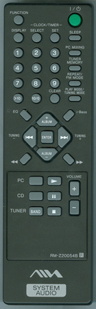AIWA 1-478-591-11 RMZ20054B Genuine  OEM original Remote