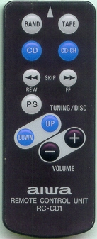 AIWA 1T0214401 RCCD1 Refurbished Genuine OEM Original Remote