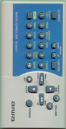 AIWA 5-147-503-04 RCBAS11 Genuine  OEM original Remote