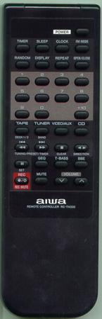 AIWA 81MX4663010 RCTN330 Genuine  OEM original Remote