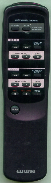 AIWA 83DW3022010 RCW102 Refurbished Genuine OEM Original Remote