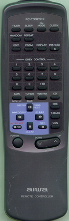 AIWA 83NE2650010 RCTN320EX Genuine  OEM original Remote