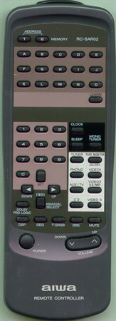 AIWA 86AR4676010 RC6AR02 Genuine  OEM original Remote