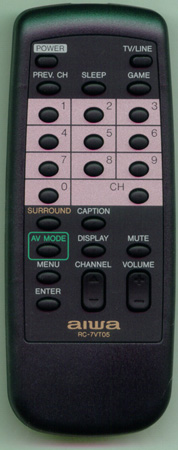 AIWA 87JBE953010 Genuine  OEM original Remote