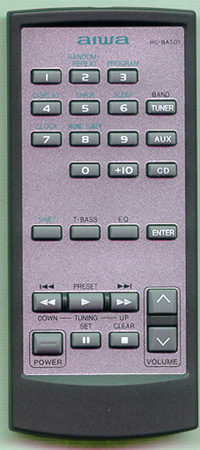 AIWA 8BCL2961010 RCBAT01 Genuine  OEM original Remote