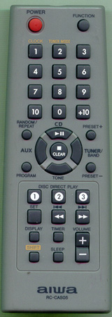 AIWA 8CCL3701010 RCCAS05 Genuine  OEM original Remote