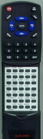 AIWA S7660DB0100 RCAVC02 Custom Built Redi Remote