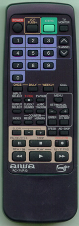 AIWA S7660BJ0100 RC7VR13 Genuine OEM original Remote