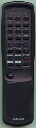 AIWA S9158401040 Genuine OEM original Remote