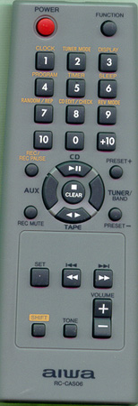 AIWA U-0005-615-U RCCAS06 Genuine  OEM original Remote