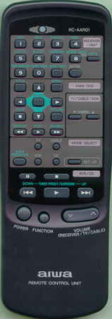 AIWA U-0047-520-U RCAAR01 Genuine  OEM original Remote