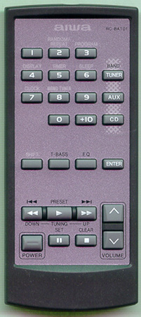 AIWA U-0066-103-U RCBAT01 Genuine  OEM original Remote
