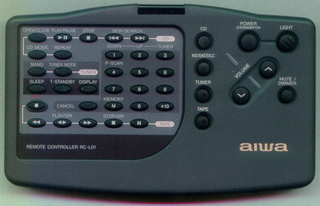 AIWA U-0097-083-U RCL01 Genuine  OEM original Remote