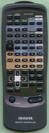 AIWA 82NT2022010 RCTN707 Genuine OEM original Remote