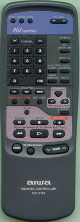 AIWA 83JT2956010 RCT147 Genuine OEM original Remote