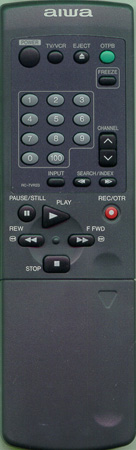 AIWA U-0136-112-U RC7VR23 Genuine  OEM original Remote