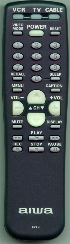 AIWA 645 030 5740 FXPH Genuine OEM Original Remote
