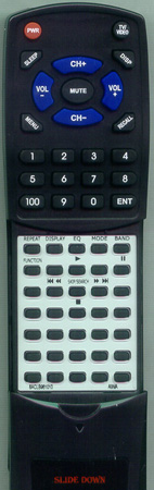 AIWA 8ACLB961010 RC-AAT11 Custom Built Redi Remote