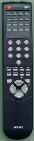 AKAI 790-002514-A3 Genuine  OEM original Remote