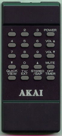 AKAI 939P153070 939P153A7 Genuine  OEM original Remote