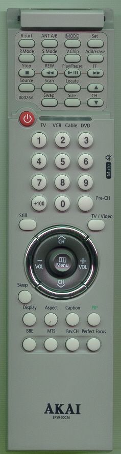 AKAI BP59-00026A BP5900026 Refurbished Genuine OEM Original Remote