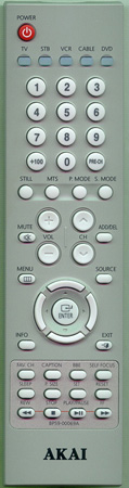 AKAI BP59-00069A BP5900069A Genuine  OEM original Remote