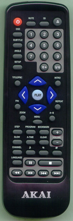 AKAI DVD200BL Genuine  OEM original Remote