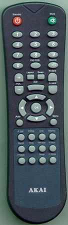 AKAI E7501-052001 Genuine  OEM original Remote