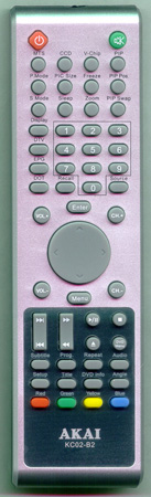 AKAI E7501-061002 KC02B2 Genuine  OEM original Remote
