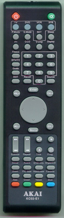 AKAI GE7501-063014A KC02E1 Genuine  OEM original Remote