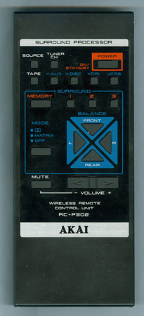 AKAI RC-P302 RCP302 Genuine  OEM original Remote