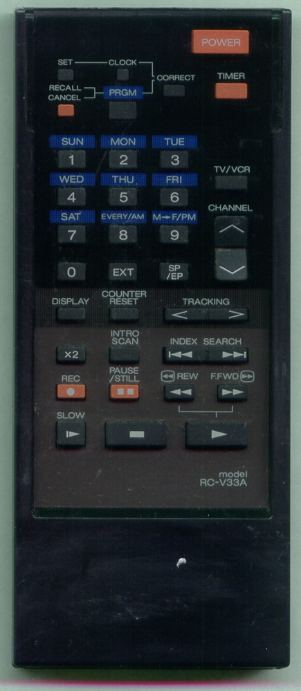 AKAI RCV33A RCV33A Refurbished Genuine OEM Original Remote