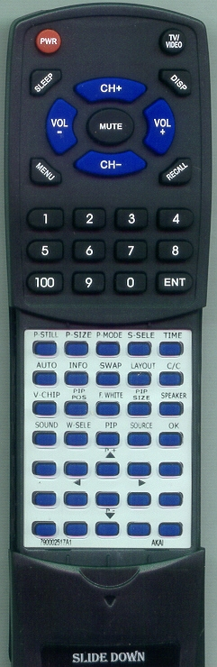AKAI 790-002517-A1 Custom Built Redi Remote