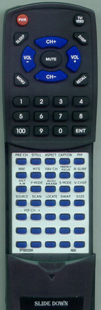 AKAI BP59-00026A BP5900026 Custom Built Redi Remote