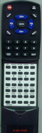AKAI E7501-051001 Custom Built Redi Remote