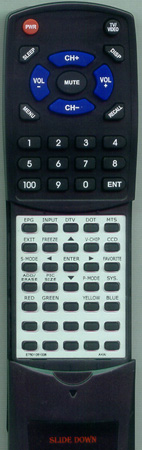 AKAI E7501-051006 Custom Built Redi Remote